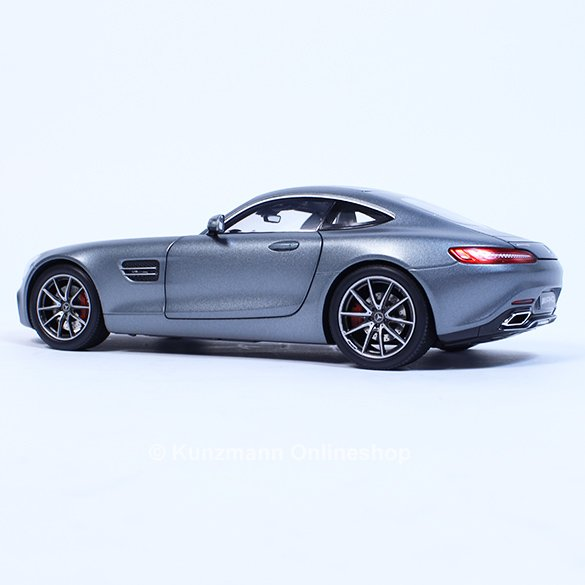 amg gt s c190 selenitgrau modellauto 1 18 norev original mercedes benz neu ebay. Black Bedroom Furniture Sets. Home Design Ideas