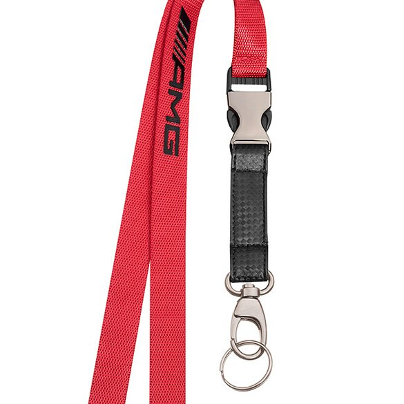 amg lanyard red genuine mercedes benz