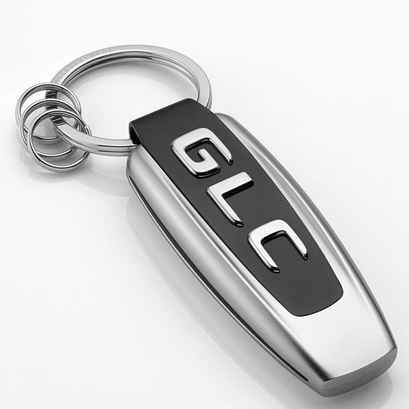 Key ring model series glc class black silver mercedes benz for Mercedes benz key rings for sale