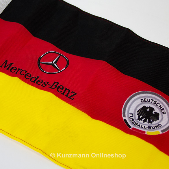 Germany Car Flag DFB & Mercedes-Benz Logo Original