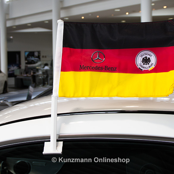 germany car flag dfb mercedes benz logo original. Black Bedroom Furniture Sets. Home Design Ideas