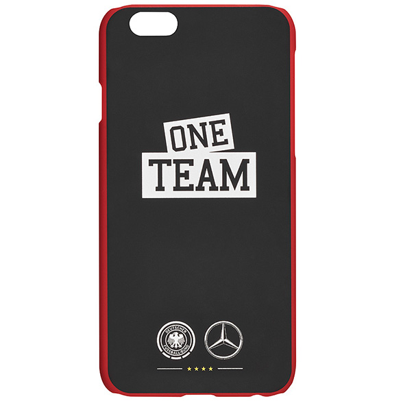 One Team iPhone 6 Hülle schwarz / rot Original Mercedes-Benz Collection