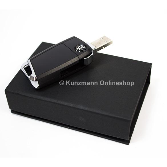 vw usb stick im schl ssel design 8 gb original volkswagen. Black Bedroom Furniture Sets. Home Design Ideas