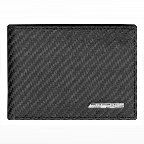 AMG mini wallet purse Carbon Leather Original Mercedes-AMG collection