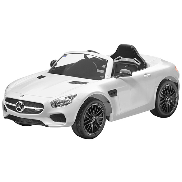 AMG GT electric vehicle white genuine Mercedes-Benz Collection