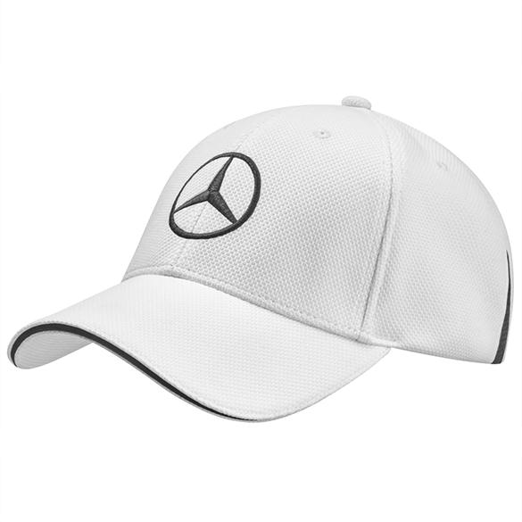 Golf cap white-black genuine Mercedes-Benz 440a8c8f902