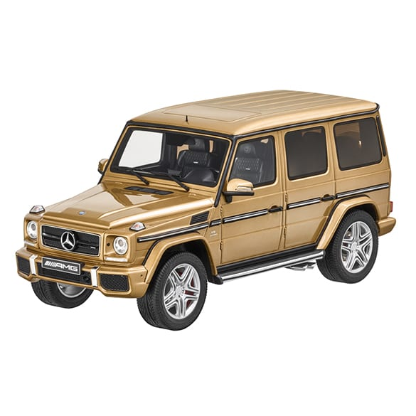 Mercedes-AMG G 63 pearl gold GT Spirit modelcar 1:18 limited to 1500 pieces