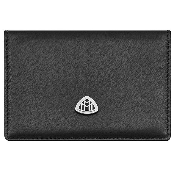 Business card wallet Maybach black Genuine Maybach Selection