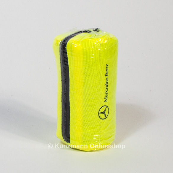 Fluorescent jacket yellow single pack with bag genuine Mercedes-Benz