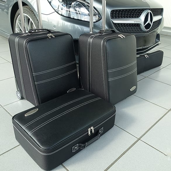 Suitcase-set 4 pieces SLC / SLK R172 Genuine Roadsterbag