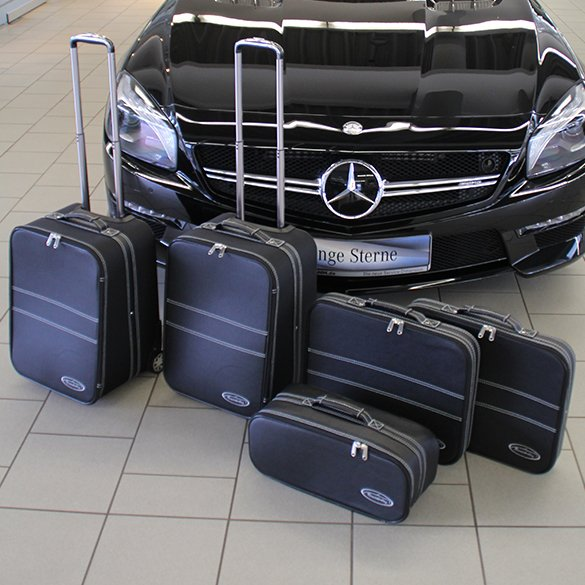 Suitcase set Mercedes-Benz SL R231 5-piece genuine Roadsterbag