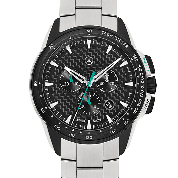 Motorsport chrono watch chronograph genuine mercedes benz for Mercedes benz watches collection