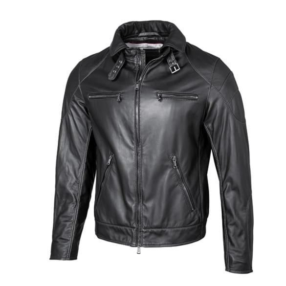 AMG leather jacket men genuine Mercedes-AMG Collection