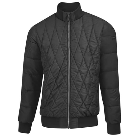 AMG quilted jacket men black genuine Mercedes-AMG Collection