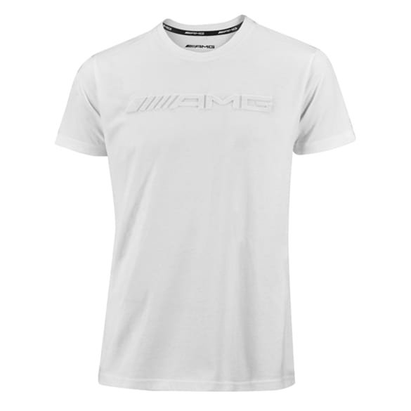 AMG T-Shirt men white genuine Mercedes-AMG Collection