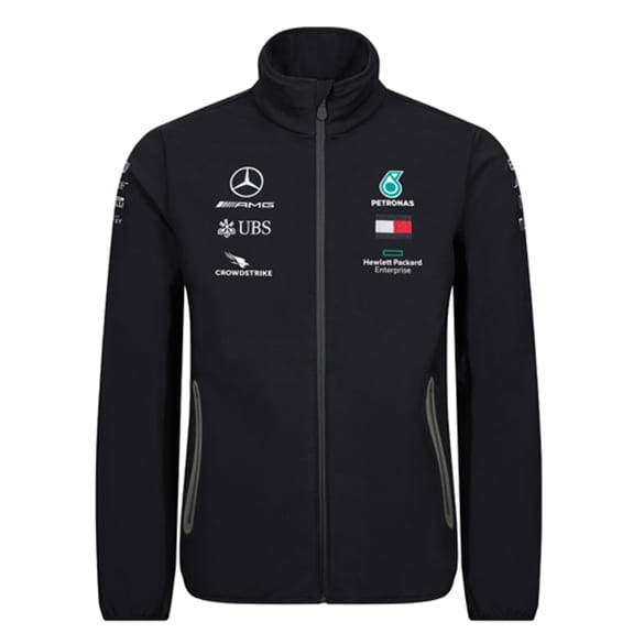 Petronas Team softshell jacket men's genuine Mercedes-AMG Collection