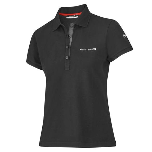 AMG polo shirt black women Original Mercedes-AMG Collection