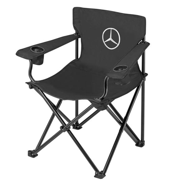 Folding chair in black genuine Mercedes-Benz Collection