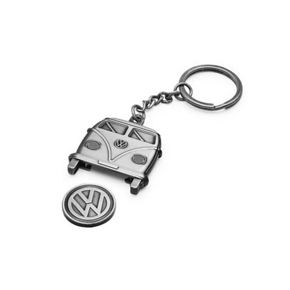 VW Keyring T1 with chip for shopping trolley genuine Volkswagen
