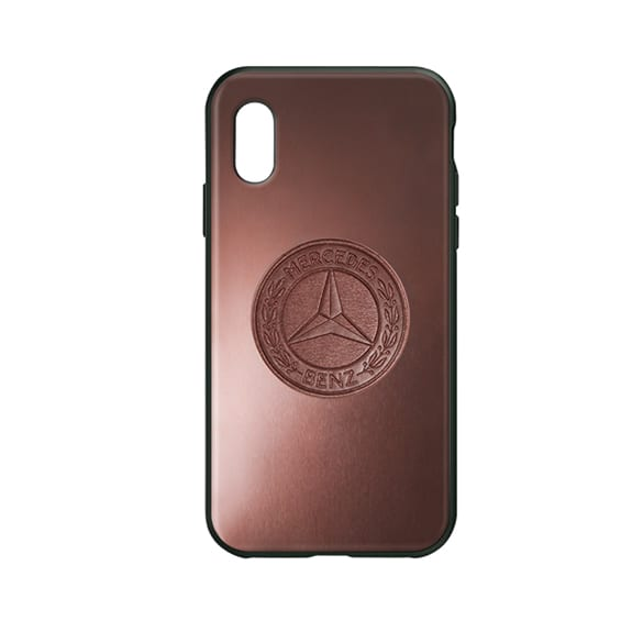 cell phone case iPhone® X/XS brown genuine Mercedes-Benz collection