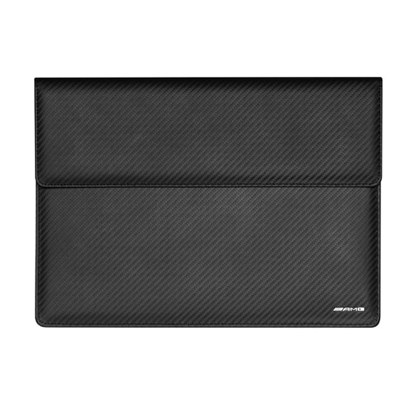 AMG laptop sleeve carbon leather genuine Mercedes-AMG collection