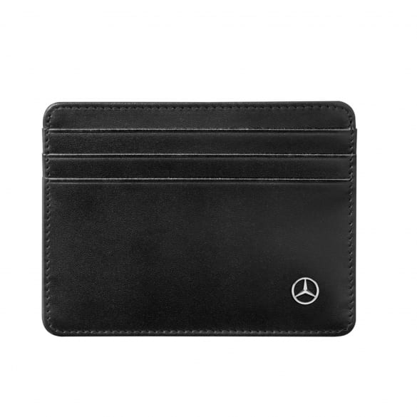 Mini credit card holder black genuine Mercedes-Benz Collection