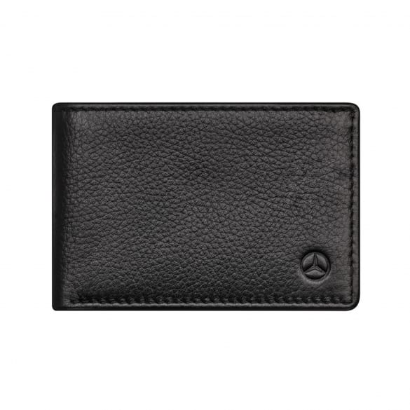 Mini wallet made of cowhide genuine Mercedes-Benz Collection