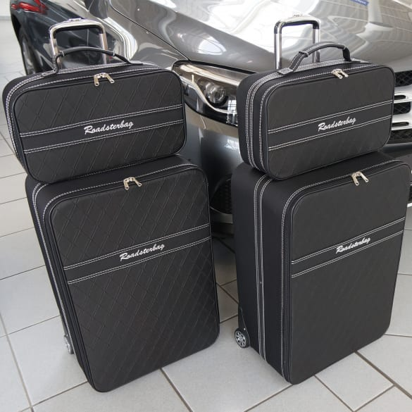 4-piece suitcase set Mercedes-Benz GLC SUV X253 genuine Roadsterbag