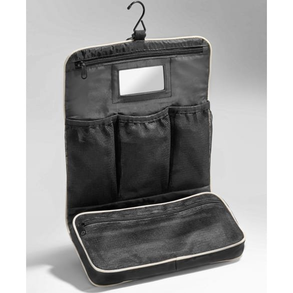 Toiletry bag black / beige genuine Mercedes-Benz Collection