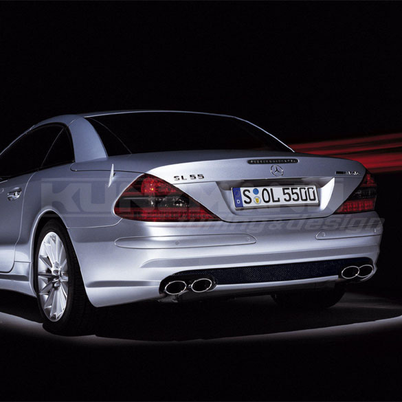 AMG exhaust system for Mercedes-Benz SL R230