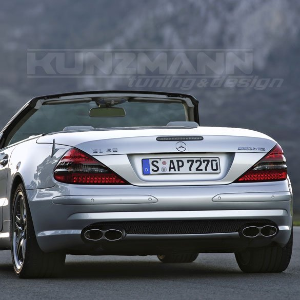 Is The Mercedes-Benz R230 55 AMG The Best Looking Modern SL ...