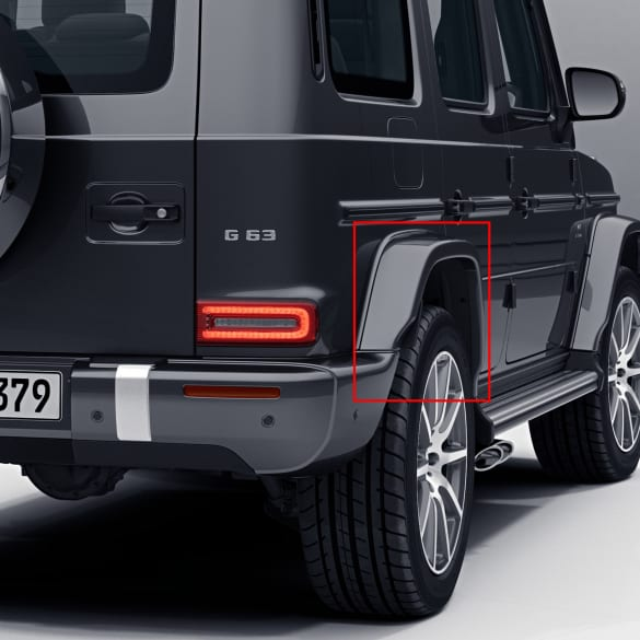 G 63 AMG fender flares rear axle G-Class facelift 463A genuine Mercedes-Benz