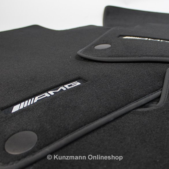 AMG floor mats S-Class W222 genuine Mercedes-Benz