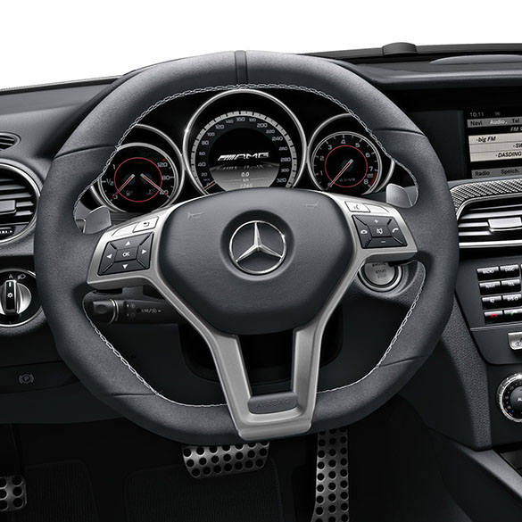 C 63 amg performance steering wheel edition 507 c class for Mercedes benz c300 aftermarket accessories