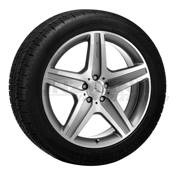 Amg styling vi 6 light alloy wheels mercedes benz ml for Mag wheels for mercedes benz