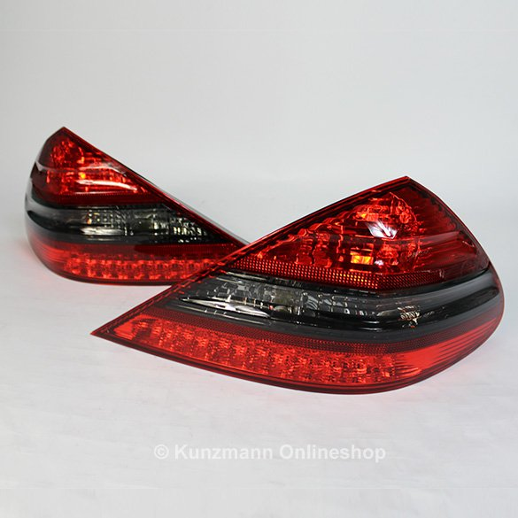 AMG rear lights set SL R230 clear glass Original Mercedes-Benz