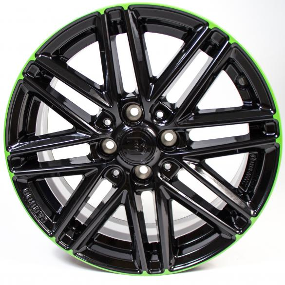 Brabus Monoblock VIII alloy wheels green smart fortwo 453 original smart