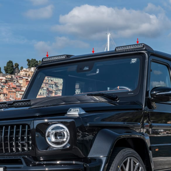 BRABUS carbon Roof add-on part G-Class W463A facelift