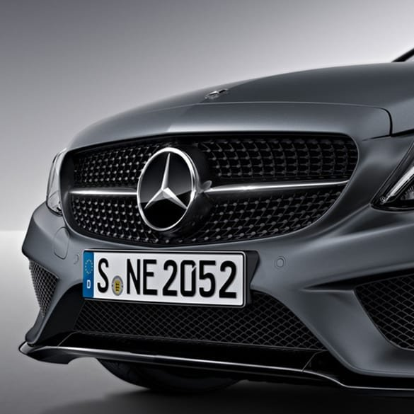 C 43 AMG Diamond Grill Night Edition C-Class W205 Genuine Mercedes-Benz