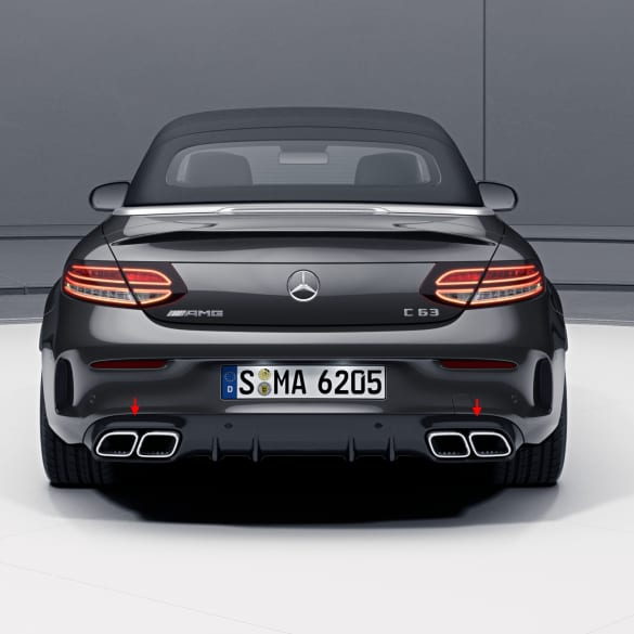 C 63 AMG Facelift Diffusor C-Class 205 Coupe & Convertible genuine Mercedes-Benz