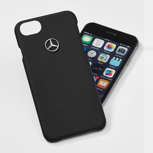 new concept 20598 66d0c case for iPhone 7 / 8 black plastic genuine Mercedes-Benz