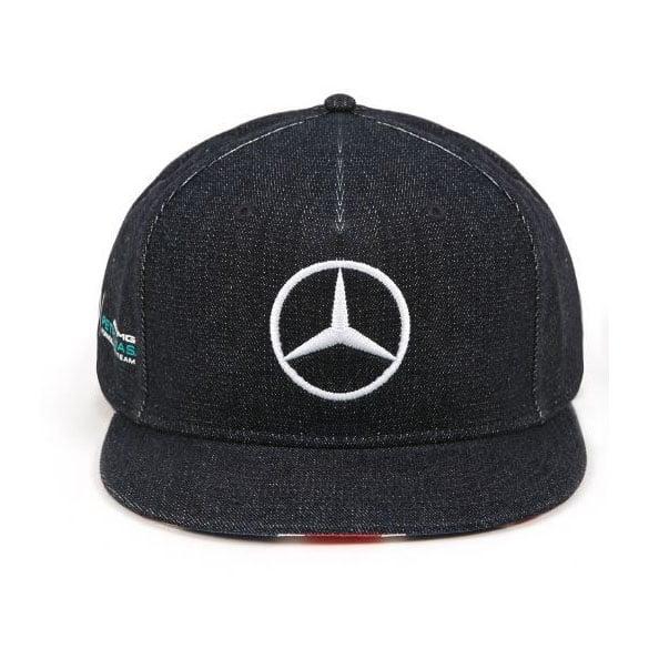 b94043600 Lewis Hamilton Snapback Cap Special Edition Great Britain 2017 Mercedes AMG  Petronas Formel 1