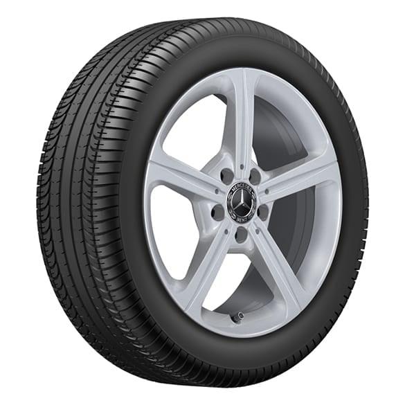 winter wheels 17 inch A-Class W177 vanadiumsilver genuine Mercedes-Benz