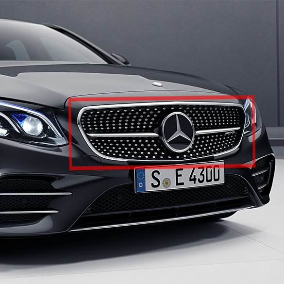 E43 AMG Diamant Kühlergrill Set | E-Klasse W213 | Original Mercedes-Benz