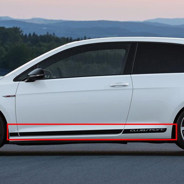 ... Golf 7 VII GTI sticker set | 3-doors | Grey | Genuine Volkswagen