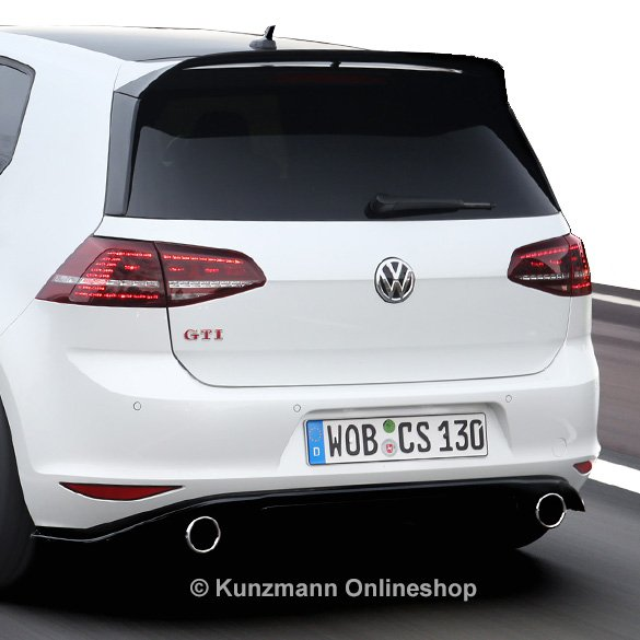 clubsport rear spoiler vw golf 7 vii gti original volkswagen. Black Bedroom Furniture Sets. Home Design Ideas