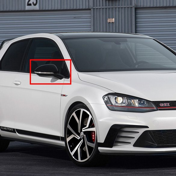 Clubsport Golf 7 Vii Gti Sticker Set 5 Doors Black Original
