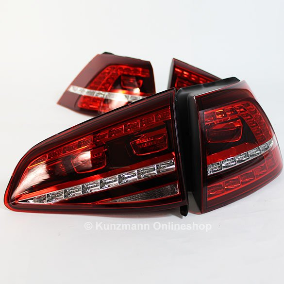 Genuine Volkswagen LED rear light Set VW Golf 7 VII GTI GTD