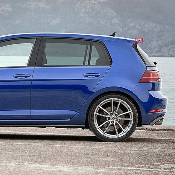 vw golf 7 vii r facelift performance heckspoiler. Black Bedroom Furniture Sets. Home Design Ideas