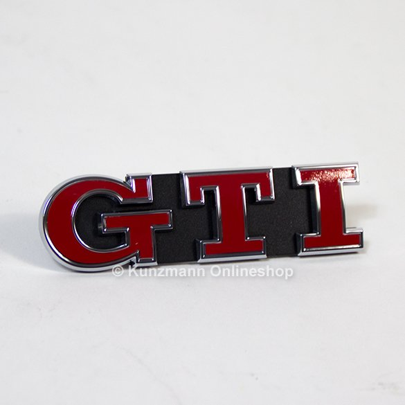Gti Performance Logo Grill Golf 7 Vii Genuine Volkswagen